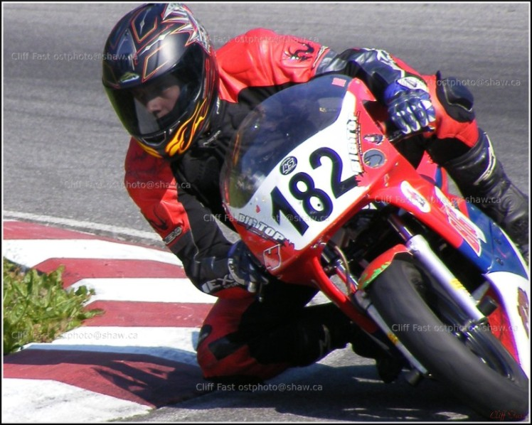 Motorcycle at Grer Moore Raceway