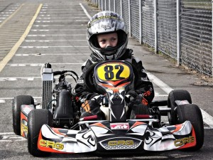 Kart 82 on the grid @ GMR