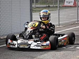Kart 85 on the grid @ GMR
