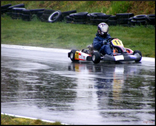 Go Kart in the rain