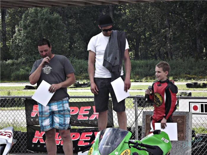 Jake Hays at Greg Moore Raceway