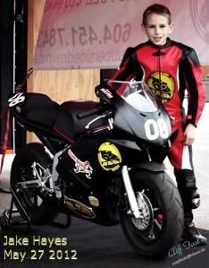 Jake Hayes of Jake Hayes Racing