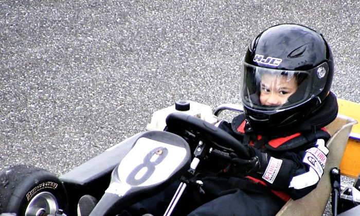 The youngest driver