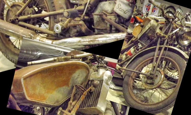 Scott Motorcycles a time forgotten