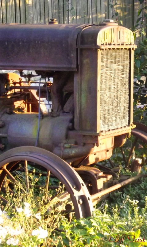 An old John Deere