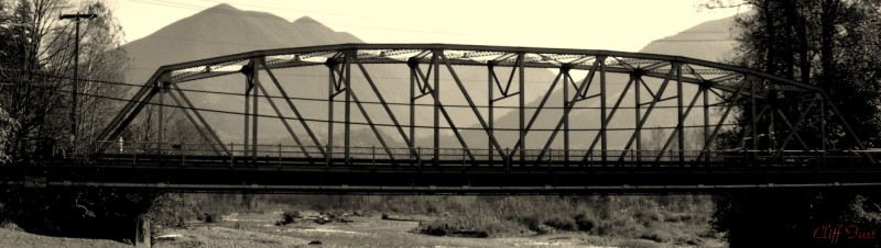 The Vedder Bridge.