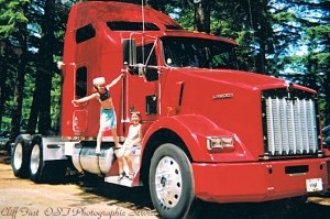 Kenworth 02 and my kids
