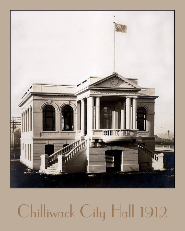 The restored image of the City Hall 1912