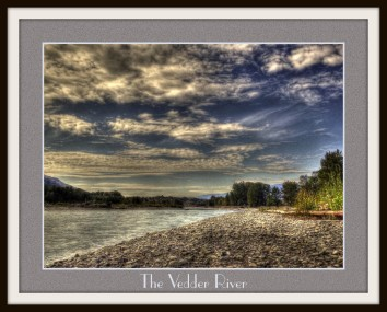 The Vedder River from the gravel bar.