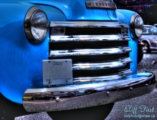 1950 something Chevy pick up truck