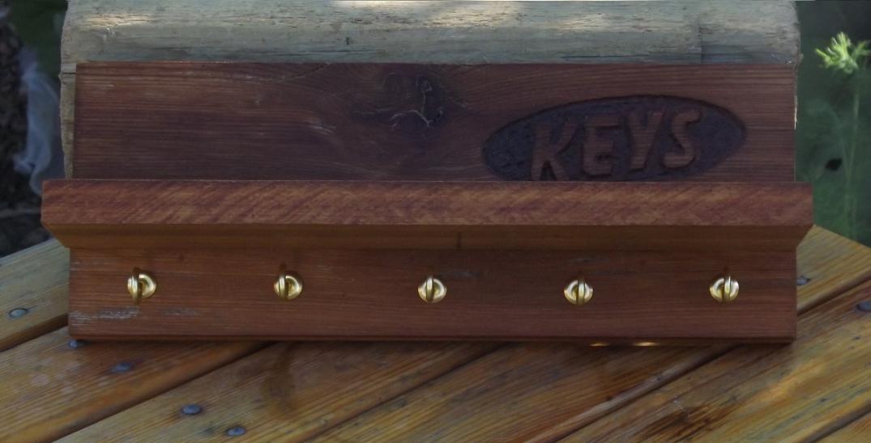 Another cedar key chin hanger.