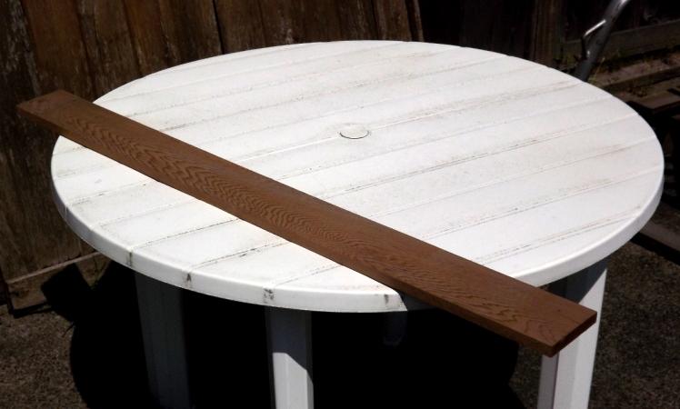 A nice cedar board