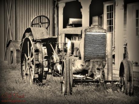 An old Wallis tractor.