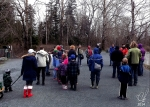 A shot of the group before we started our walk.