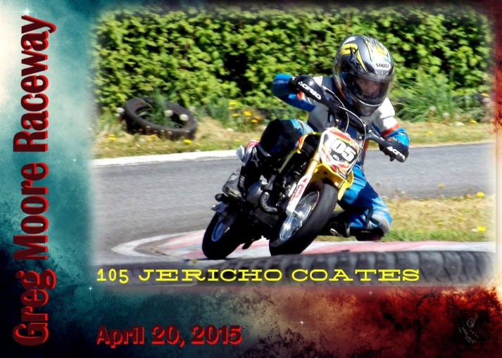 Race Card 105 Jericho Coates-1