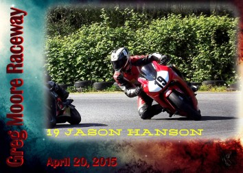 Race Card 19 Jason Hanson-2