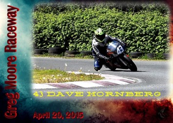 Race Card 43 Dave Hornberg-1